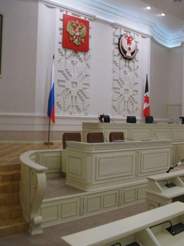 Зал заседаний Госсовета Удмуртской Республики