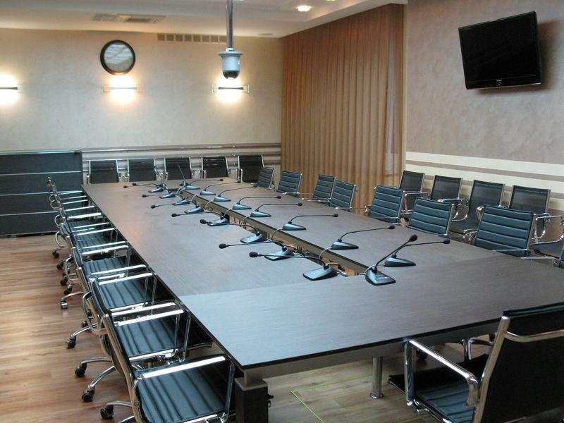 Дизайнерский интерьер пресс-центра в Ижевске